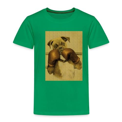 boxing a dogs ears - T-shirt Premium Enfant