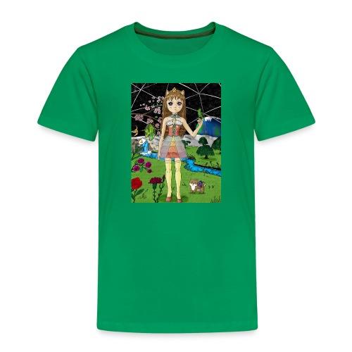 Mondgarten - Kinder Premium T-Shirt