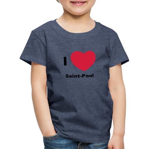 i love sainte paul - T-shirt Premium Enfant