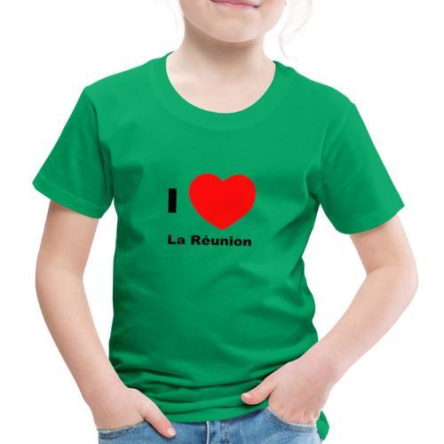 i love la réunion - T-shirt Premium Enfant
