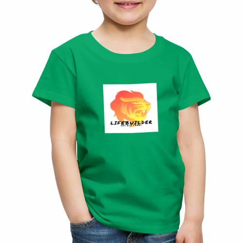 Lifebuilder Löwe - Kinder Premium T-Shirt