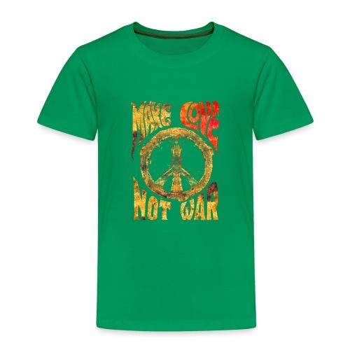 Make Love Not War - Kinder Premium T-Shirt