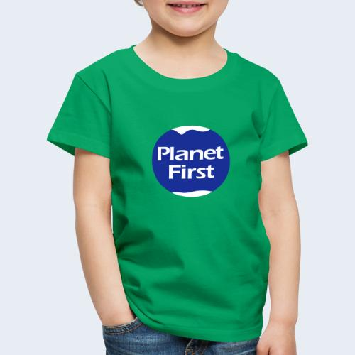 Planet First 2 - Kinderen Premium T-shirt