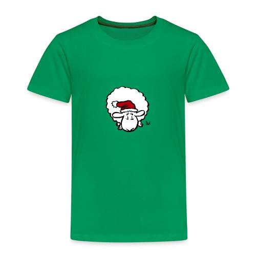 Weihnachtsschaf (rot) - Kinder Premium T-Shirt