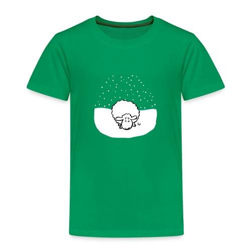 Schneebedeckte Schafe - Kinder Premium T-Shirt