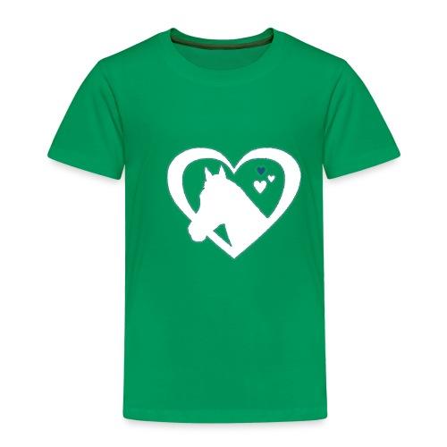 horse heart - Kinderen Premium T-shirt