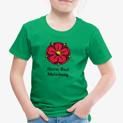Lippische Rose mit Unterschrift Horn-Bad Meinberg - Kinder Premium T-Shirt