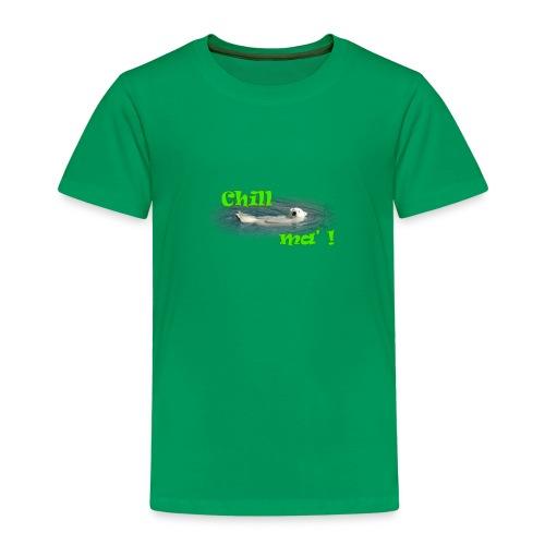 Chill ma'! - Bär - Kinder Premium T-Shirt