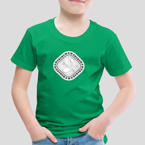 Eckige Klaviatur - Kinder Premium T-Shirt