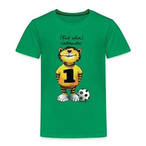 Janosch Tiger Fast Schon Weltmeister - Kinder Premium T-Shirt