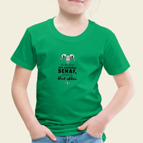 Schwarzes Schaf - white edition - Kinder Premium T-Shirt