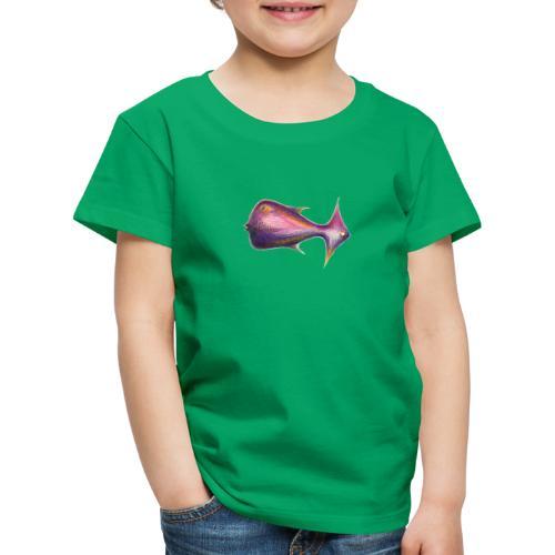 Wegweiser Fisch - Kinder Premium T-Shirt