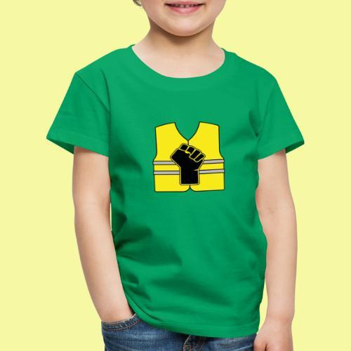 logo gilet poing - T-shirt Premium Enfant