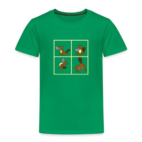 ornithorynque fait du yoga - T-shirt Premium Enfant