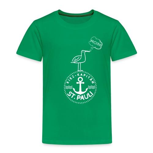 Kiez-Kapitän© St. Pauli Logo - Kinder Premium T-Shirt