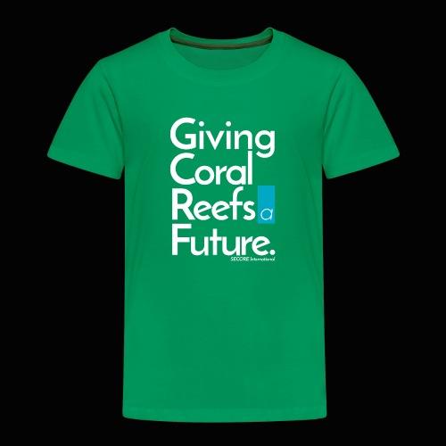 Giving Coral Reefs a Future - Kids' Premium T-Shirt