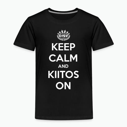 keep calm and kiitos on - Kinder Premium T-Shirt
