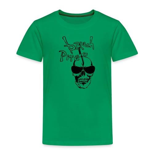 breizh pirate poignard tete de mort crane - T-shirt Premium Enfant