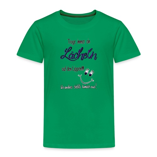Lächeln - Kinder Premium T-Shirt