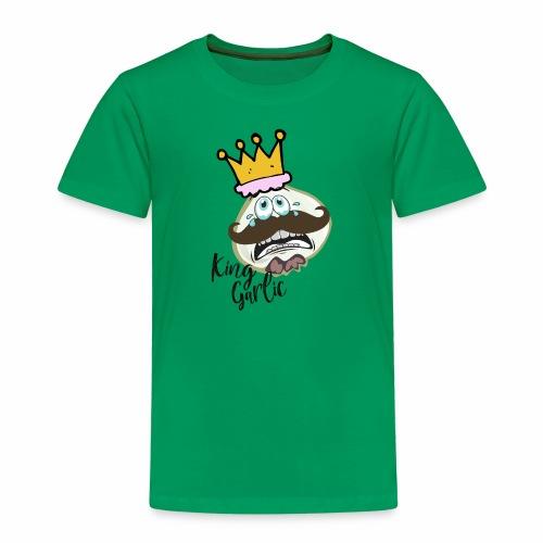 KING GARLIC | GESCHENKIDEE - Kinder Premium T-Shirt
