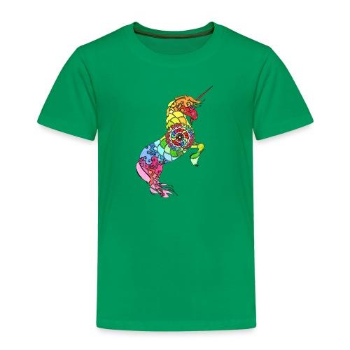 Einhorn Motiv 3 - Kinder Premium T-Shirt