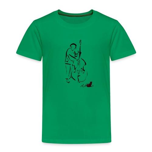 CONTRABBASSISTA - Maglietta Premium per bambini