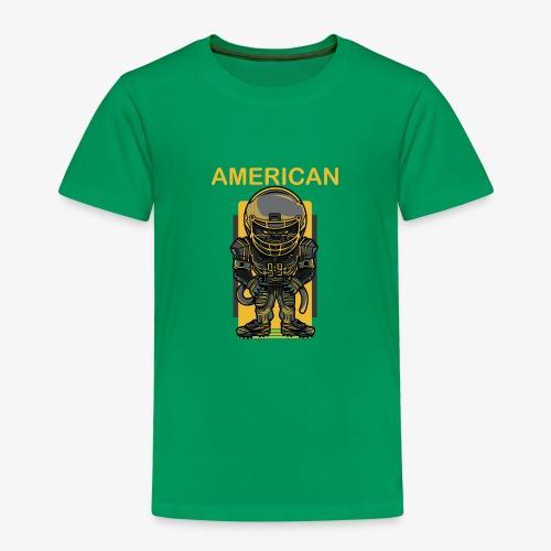 American - Camiseta premium niño