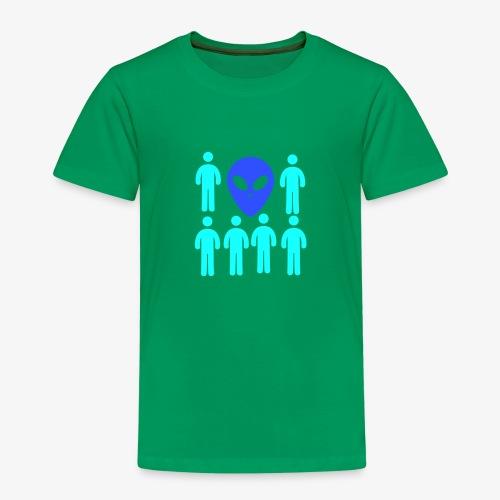 Extraterestre y Humano - Camiseta premium niño