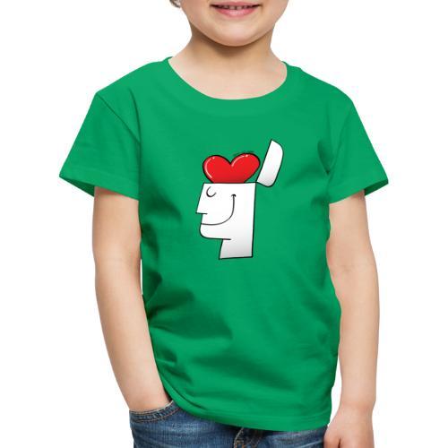 A Heart in my Head - Kids' Premium T-Shirt
