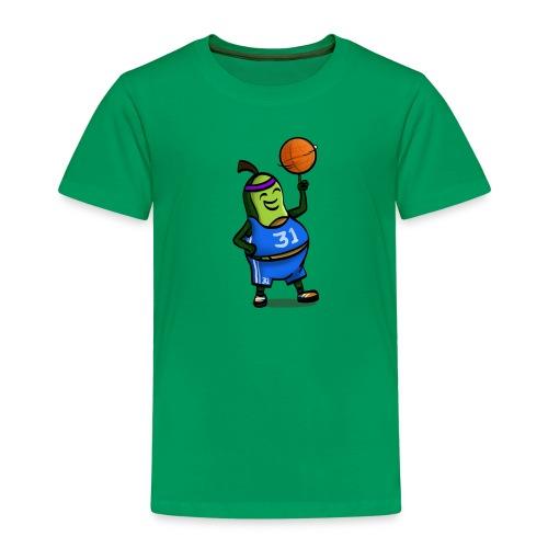 Baseball Avocado - Kinder Premium T-Shirt