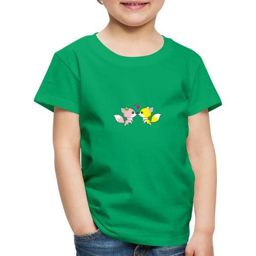 Fox-Love Kuss - Kinder Premium T-Shirt