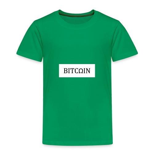 Classic Bitcoin Omega Design BTC Flight Club - Kinder Premium T-Shirt