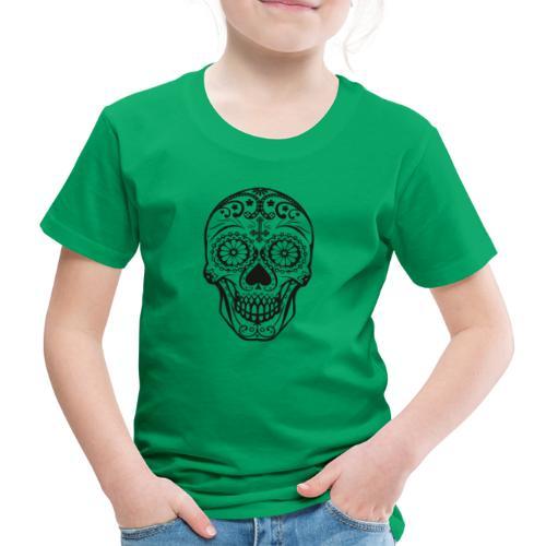Skull black - Kinder Premium T-Shirt