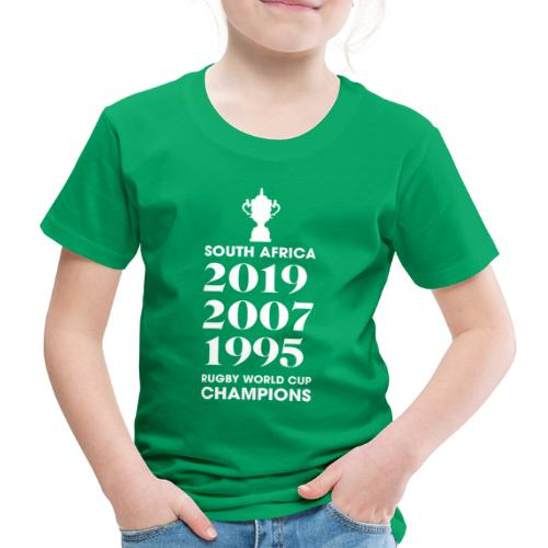 South Africa Rugby World Cup Champions - Kids' Premium T-Shirt