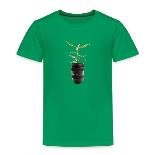 Pflanze im Objektiv - Kinder Premium T-Shirt