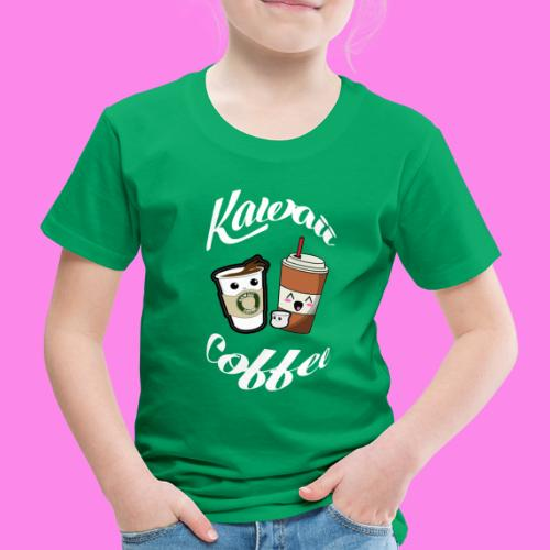 Kawaii - Kaffee Coffee - Kinder Premium T-Shirt
