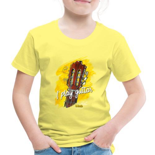 I play guitar - limited edition '19 - Kinder Premium T-Shirt