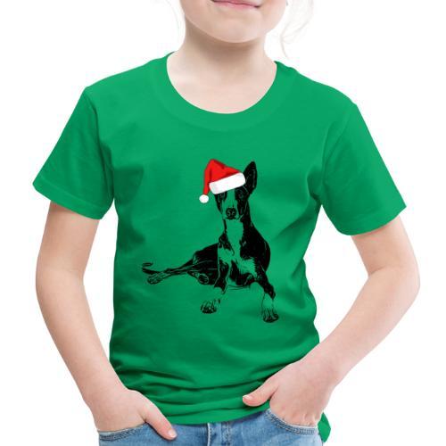 Weihnachten Podenco Hunde Geschenkidee - Kinder Premium T-Shirt