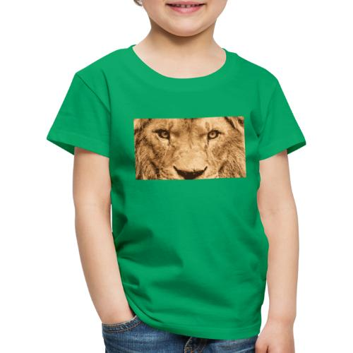 Lion, Löwe, König - Kinder Premium T-Shirt