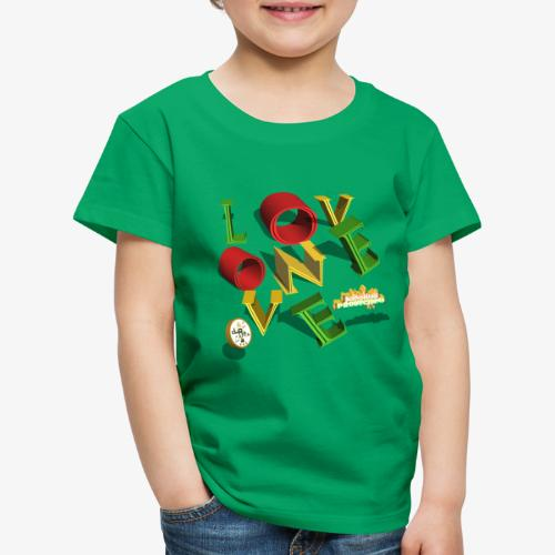 one love Kansidah 3D design - Kinder Premium T-Shirt