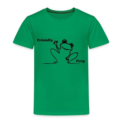 friendly_frog - Kids' Premium T-Shirt
