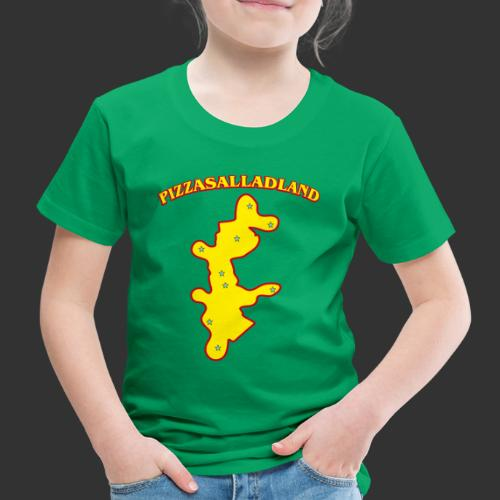 Pizzasalladland - Premium-T-shirt barn