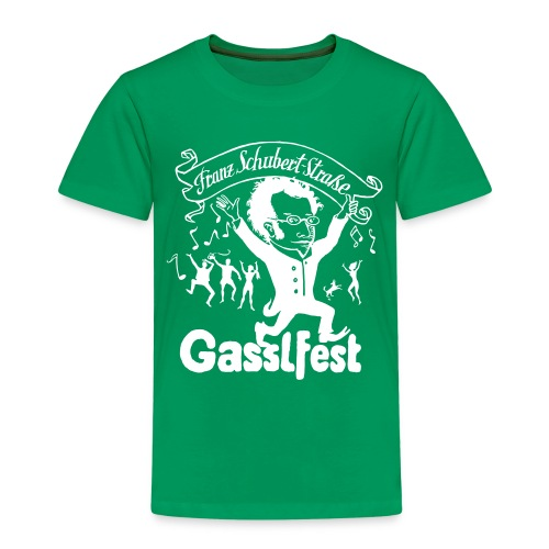 Franz Schubert-Straße Gasslfest - Kinder Premium T-Shirt