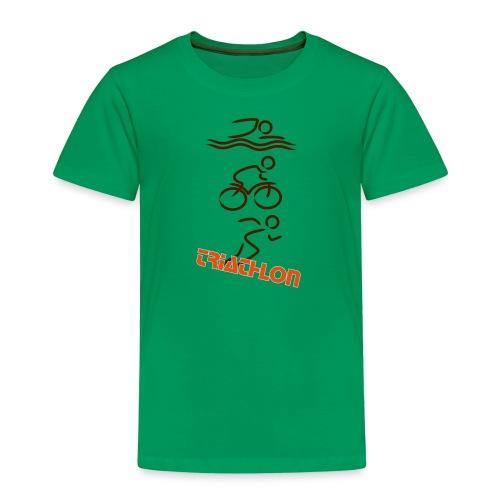 Triathlon - Kinder Premium T-Shirt