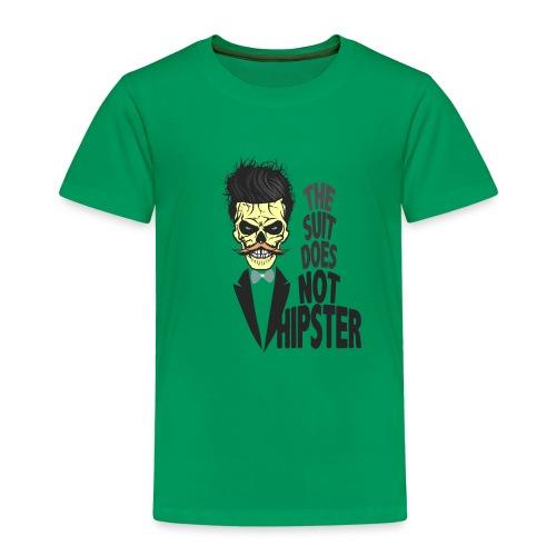 tete de mort hipster citation skull crane humour m - T-shirt Premium Enfant