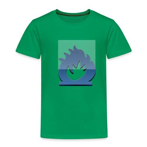 fuoco blu - Maglietta Premium per bambini