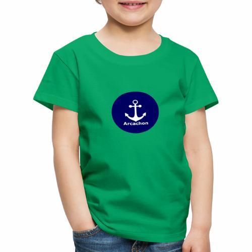 Arcachon Ancre blanc - Kids' Premium T-Shirt