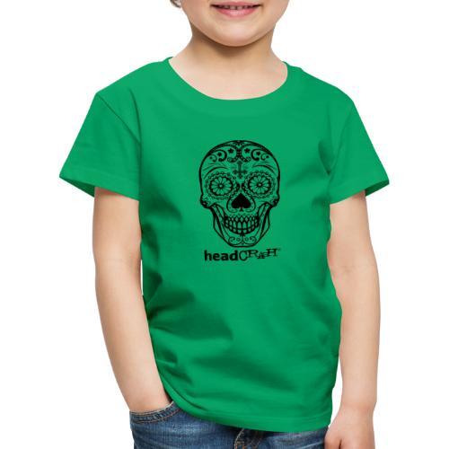 Skull & Logo black - Kinder Premium T-Shirt