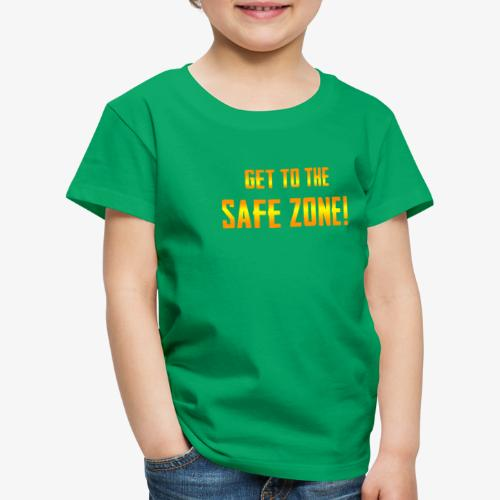 PUBG Get to the safe zone! - Kinder Premium T-Shirt
