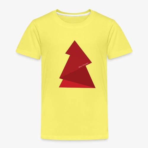 red triangles fir - Kids' Premium T-Shirt